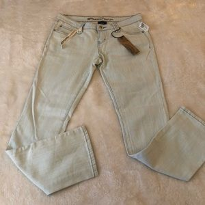 NWT Blue Asphalt Skinny Jeans